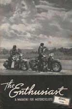 1949 April - The Enthusiast - Vintage Harley-Davidson Motorcycle Magazine