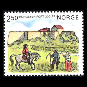Norway 1985 - 300th anniversary of Kongsten Fort - Sc 860 MNH