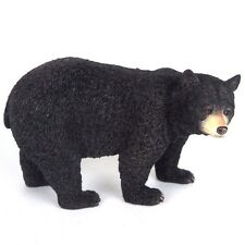 "Black Bear Detailed Figurine Miniature Statue 8""L New"
