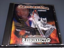CD: SAMANTHA COLEMAN - Ressurrected (2003 Be Ye Holy Productions)Rare G-Funk OOP