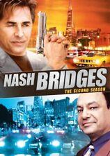 NASH BRIDGES THE SECOND SEASON 2 DON JOHNSON CHEECH MARIN NEW SEALED 5-DISC DVD