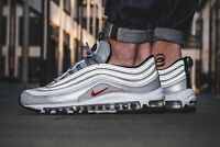 "Nike Air Max 97 OG QS ""Silver Bullet"" Limited & Rare Edition All Sizes YOGI"