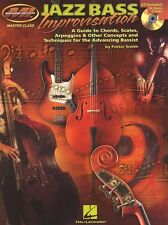 Putter Smith Jazz Bass Improvisation Learn to Play Double Bass Music Book & CD