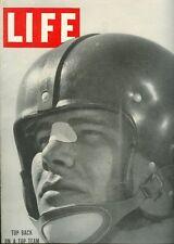 1950 LIFE Magazine SOUTHERN Methodist SMU vs TEXAS Longhorns KYLE ROTE Free Ship