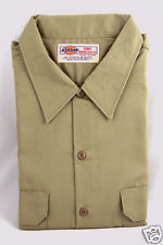 Dickies Khaki Long Sleeve Work Shirt 2XL 32/33 NWT