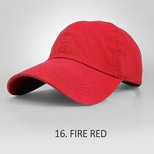 Baseball Cap Solid Plain Basic Blank Fashion Color Visor Ball Sport Hat
