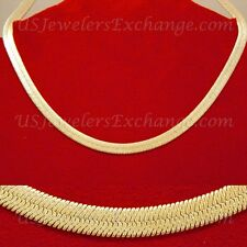 "NEW CLEARANCE GOLD GP CROSS-HATCH TEXTURED HERRINGBONE 18"" CHAIN NECKLACE  #701E"