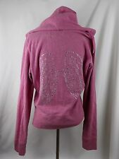 VICTORIAS SECRET SUPERMODEL ESSENTIALS BLING LARGE PINK ANGEL WINGS GEMS