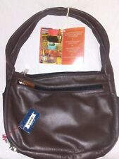 Galco Dyna Conceal Carry Handbag Gun Purse CCW Brown Leather