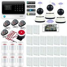 V61 IP Camera APP WIFI GSM SMS Smart Wireless Home Security Alarm Burglar System