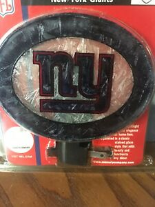 New York Giants  Plug In Glass Night Light Made By The Memory Co New