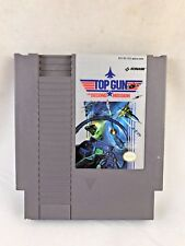 Top Gun: The Second Mission (Nintendo NES, 1990) Game Only--Tested (NTSC/US/CA)