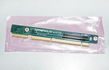 Supermicro CSE RR1U-ER, Riser Card SXB-E/PCI to 1x PCI-E x8 1U, right slot, Neu