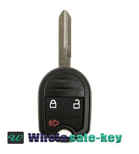 New 3 Button Remote Head Key Fob Transmitter 80 Bit Keyless Entry Uncut for Ford