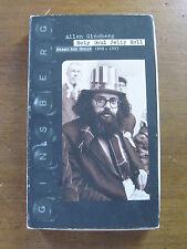 Signed - Allen Ginsberg - Holy Soul Jelly Roll - 4 Cd box set - association copy