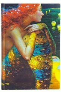 """Small Mermaid Journal Diary Notebook Spellbook 3""""x 6"""" Inch  200 Pages"""