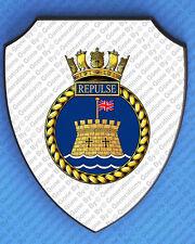 HMS REPULSE 1919 WALL SHIELD
