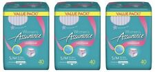 3-Pack S/M Adult Disposable Diapers For Women Overnight Incontinence Underwear