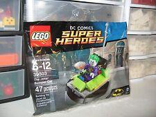 "LEGO SUPER HEROS   "" THE JOKER BUMPER CAR ""  # 30303   NEW POLYBAG"