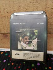 George McCrae Baby Sweet Baby 8 Track Stereo Tape Cartridge Vtg New Old Stock