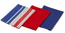 Armadale 3 pack tea towels Red j. elliot HOME bulk lot