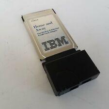 IBM PCMCIA Fax/Modem & Ethernet Credit Card Adapter 13H7373