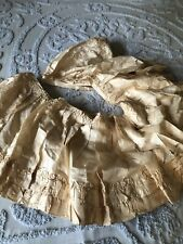 Vintage Possibly Antique Layer Of A Skirt Or Long Dress Damaged