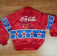 Vintage 1996 Atlanta Olympic Games Nylon Jacket M Medium Satin bomber
