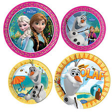 Disney Frozen Birthday Party Value Tableware Plates Cups Napkins Tablecover 20cm Plates X 8