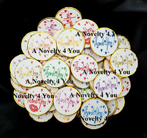 Thank You Chocolate Coins Party Bag Fillers Favours Birthday Wedding Teacher
