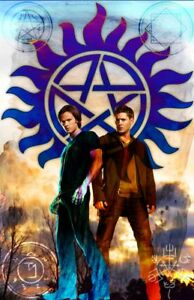 """Supernatural """"The Winchester Brothers"""" 11 x 17 High Quality Poster"""