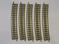 Flm piccolo 9131 gebogenes Gleis R3 15° hellgrau 5 Stück (34287)