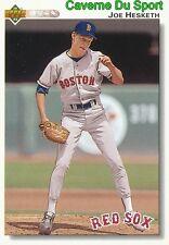 570 JOE HESKETH BOSTON RED SOX BASEBALL CARD UPPER DECK 1992
