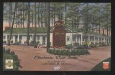 Postcard CAPE CHARLES Virginia/VA  Rittenhouse Tourist Motel Motor Court 1930's