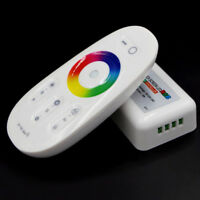 RF Remote Control Touch Screen Dimmer for RGB RGBW 5050 LED Strip Light 12-24TPD