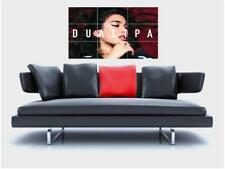 "Dua Lipa Borderless Mosaic Wall Poster 35""x23"" DREAM POP SYNTH POP"