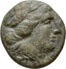 Ancient Greece 2 cent Bc Larissa Thessaly League Apollo Athena Itonia Ae