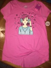 So Girls Sz 16 Music Dance Shirt Nwt Pink Glitter Claire's Earrings Jewelry Lot