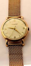 18K /14 K ROSE GOLD GENEVA SCHAFFHAUSEN INTERNATIONAL WATCH CO.