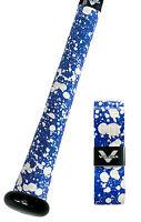 VULCAN ADVANCED POLYMER BAT GRIPS - ULTRALIGHT 0.50 MM - BLUE SPLATTER