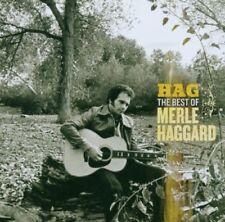 MERLE HAGGARD HAG THE BEST OF MERLE HAGGARD CD NEW