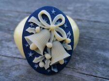 CHRISTMAS cameo silicone push mold mould polymer clay resin Sugar craft WAX USA
