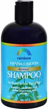 Organic Herbal Henna Biotin Shampoo, Rainbow Research, 12 oz