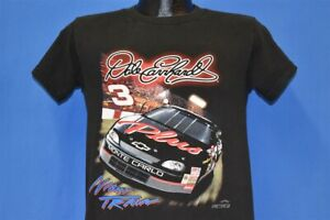 vintage 90s DALE EARNHARDT NIGHT TRAIN #3 CHEVY t-shirt NASCAR RACING YOUTH XL