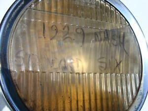1929 Nash Standard 6 Headlight