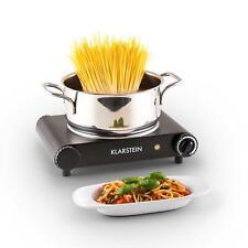 Plaque de cuisson électrique simple studio camping 1200w vitrocéramique design