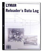 Lyman Reloader's Reloading Data Log Book 50 Pages 9847261
