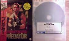 Predator 1987 VHD Videodisc High Density NTSC Japan