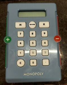 Monopoly Electronic Banking 2007 Edition Replacement Parts Banking Card Unit ATM