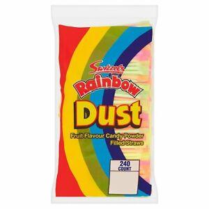 Swizzel Rainbow Dust Straws Choose Colour quantity Retro Sweets-party bag filler